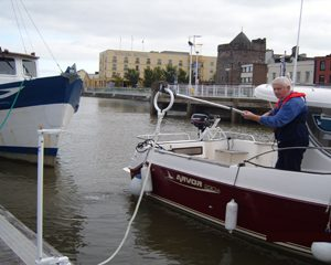 The Douglas Easy Docking Mooring System in Action